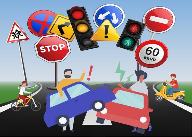 Grúas Salvatierra: Qué hacer frente a un accidente en la vía pública